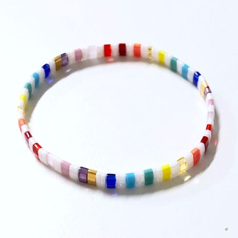 Fashion woven rice beads bracelet NHGW139774's discount tags