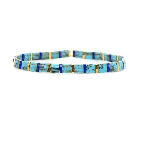 European and American personality rice beads braided ladies bracelet NHGW139775's discount tags