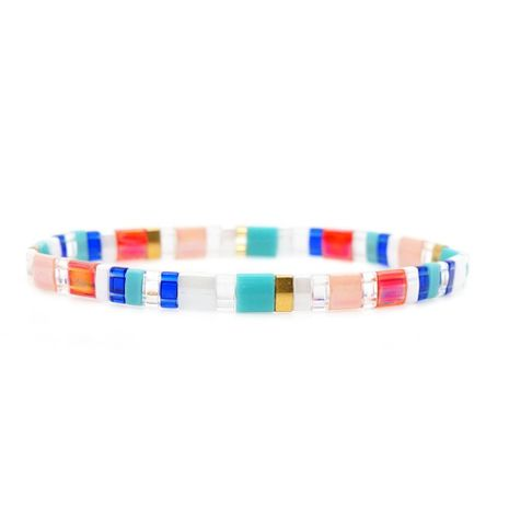Fashion new woven rice beads bracelet NHGW139845's discount tags