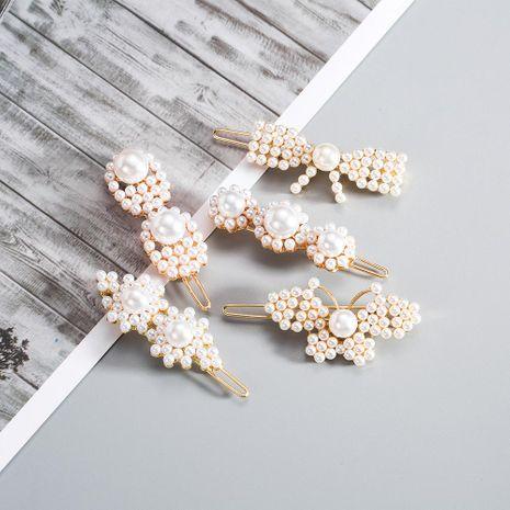 Conjunto de insectos de mujer con perlas perlas Accesorios para pelo NHYT139856's discount tags