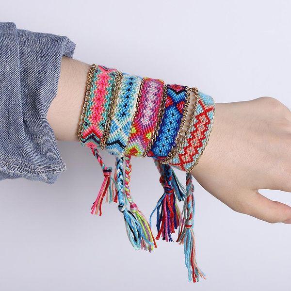Womens U-shaped fabric Bracelets & Bangles NHJQ139869