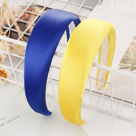 Fashion solid light color sponge wide headband NHHV139949's discount tags