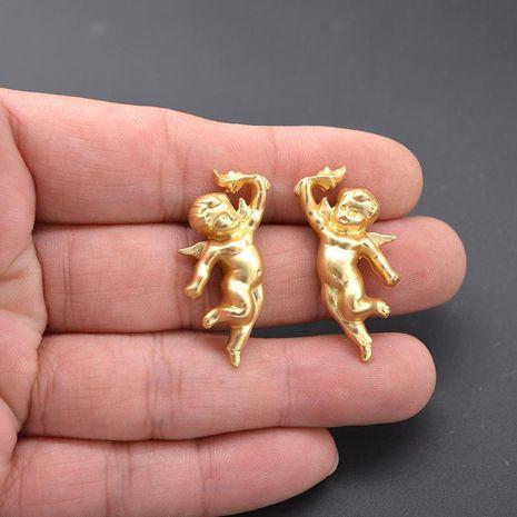 Wild Cupid Angel Vintage Earrings NHNT140015's discount tags