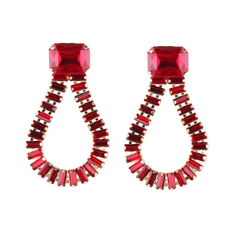 Womens geometric plating alloy Earrings NHJQ140200