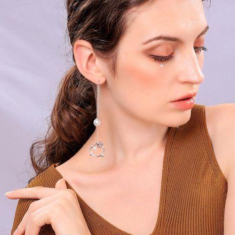 Pendientes de lechón de tendencia de temperamento de moda NHQD140222's discount tags