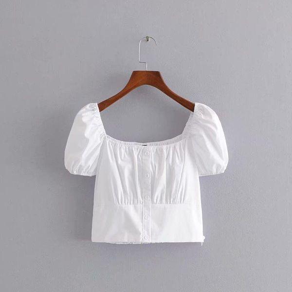 Cotton French blouse shirt NHAM140401