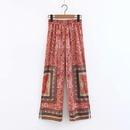 Fashion printed straight pants casual pants NHAM140344