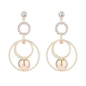 Imitated crystal Earring Fashion NHSE200578