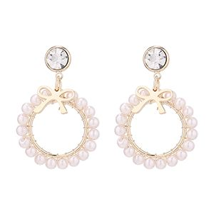 Imitated crystal Earring Fashion NHSE200580