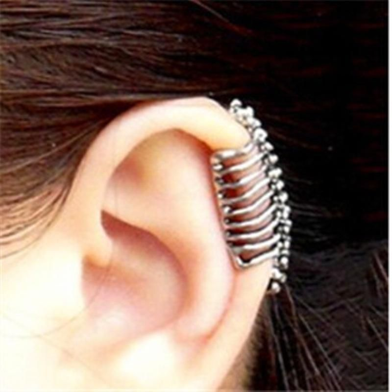 Fashion semi-circular ear cuff clip earrings NHPF141116