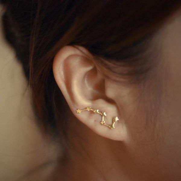 Fashion dipper ear cuff clip earrings NHPV141117