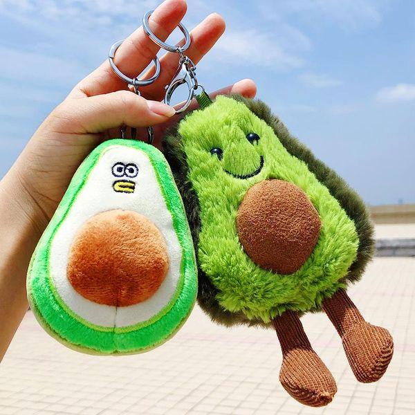 Cute ugly cute doll bag doll avocado keychain NHBM141355