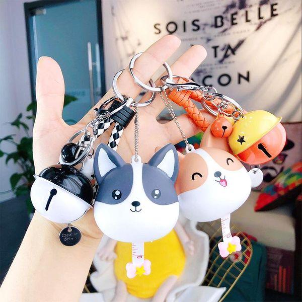 Cute silicone doll bear keychain NHBM141361