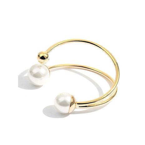 Pulsera de perlas de imitación de apertura salvaje vintage NHNT151202's discount tags