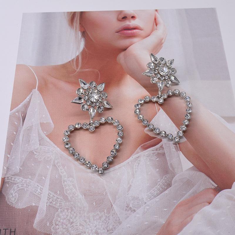 Womens Star Plating Alloy Earrings NHNT151349