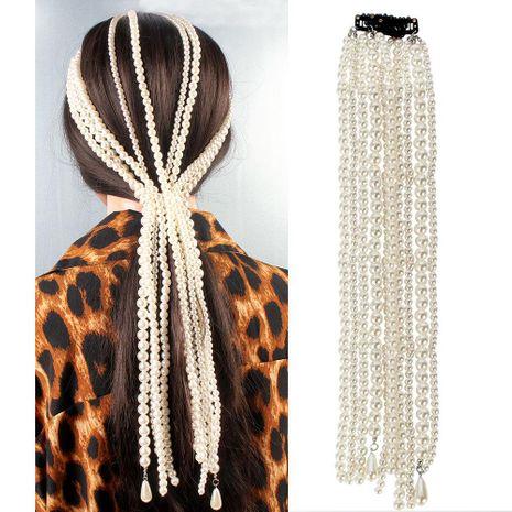 Accessoires de cheveux gland perle imitation tempérament NHCT151404's discount tags