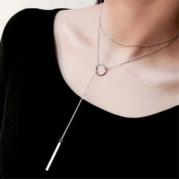 Fashion plating alloy necklace NHPF151520