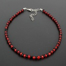 Womens geometric pearl seed beads Necklaces NHCT151256