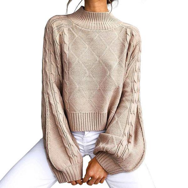 Autumn diamond mesh women's sweater sweater NHAM151667