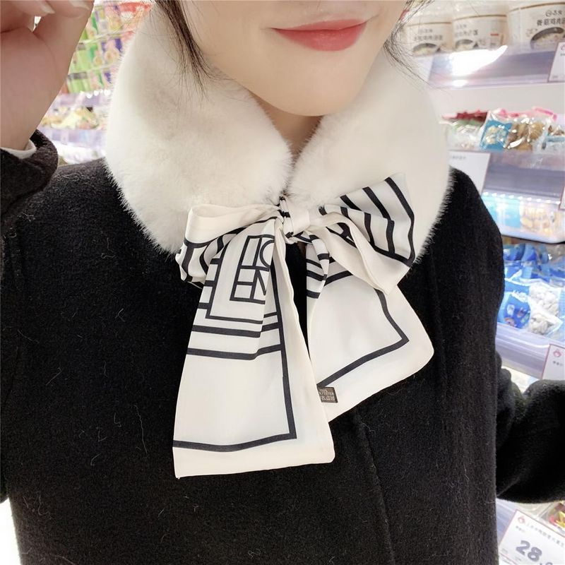 Korean version of the versatile detachable dual-use scarf NHMN151700