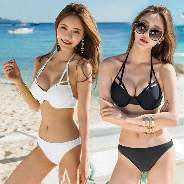 Fashion sexy black bikini NHXW151733