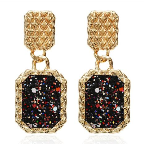 Fashion Alloy Super Shiny Piece Geometric Earrings NHPF151891's discount tags