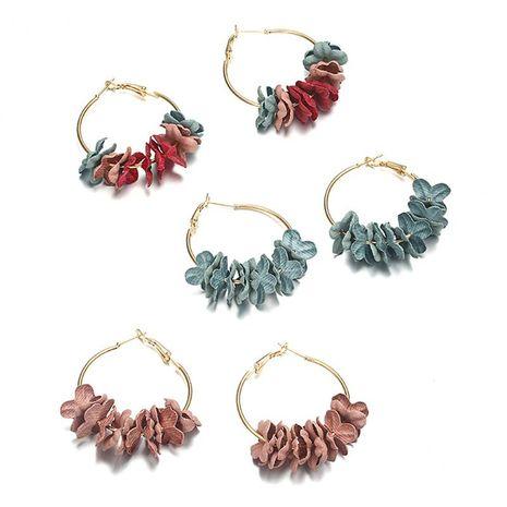 Fashion wreath earrings flower earrings NHPF151935's discount tags