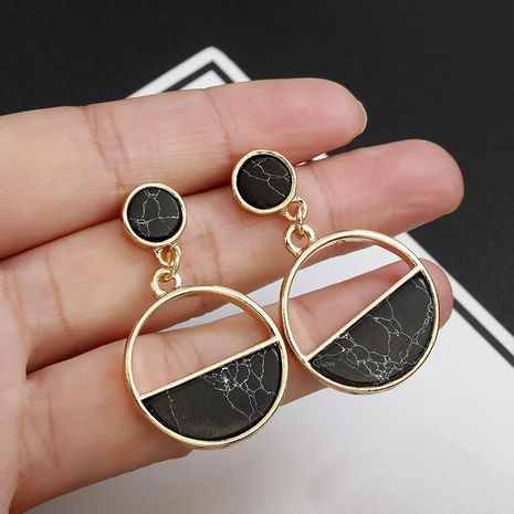 Fashion Geometric Acrylic Resin Earrings NHPF151941's discount tags