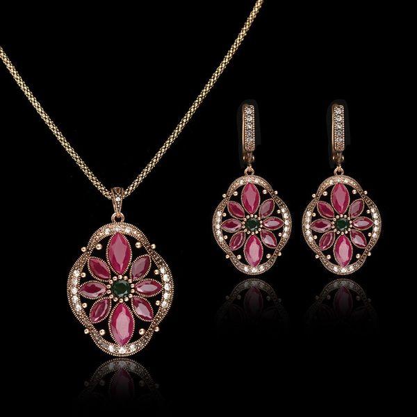 Womens Diamond Alloy Jewelry Sets NHLJ152048