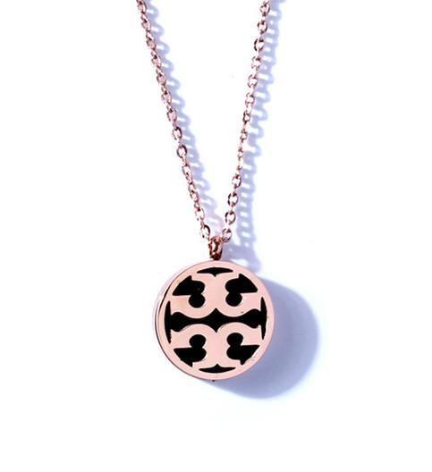 Stylish and simple titanium steel necklace NHIM152050