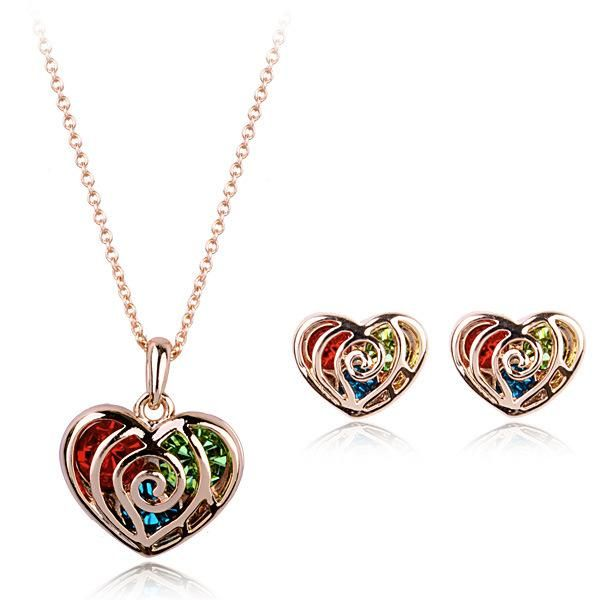 Womens Plating Alloy Other Jewelry Sets NHLJ152079