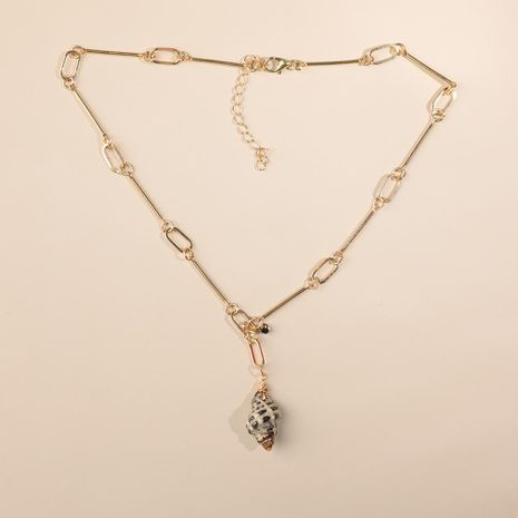 Collar de concha natural de moda collar de múltiples capas NHLL152098's discount tags