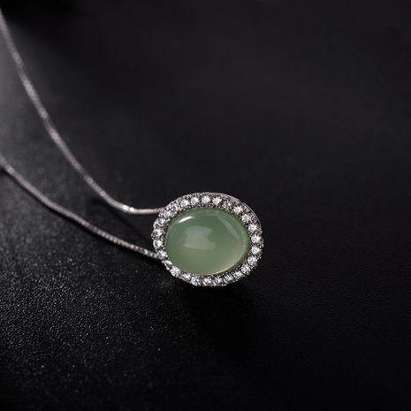Collares de aleación de enchapado geométrico para mujer NHLJ152124's discount tags