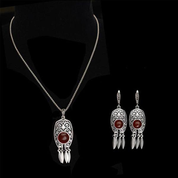 Womens Inlaid Glass Alloy  Jewelry Sets NHLJ152145