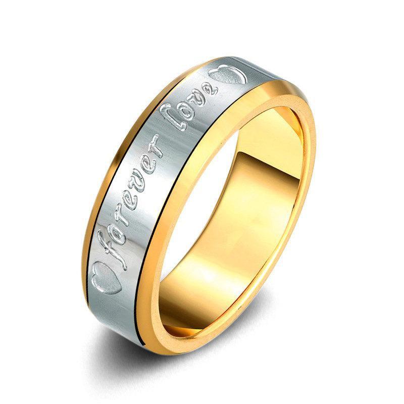 Eternal Love Titanium Steel Ring NHIM152187