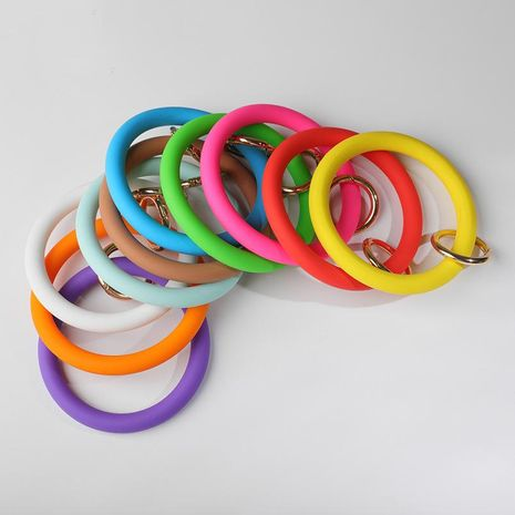 Sports Fitness Anti-Key Silicone Bracelet NHLL152189's discount tags