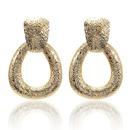 Fashion Alloy Geometric Round Heart Earrings NHPF151942