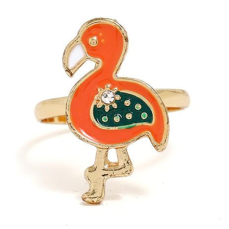 European and American opening adjustable flame bird alloy ring NHKQ152230's discount tags