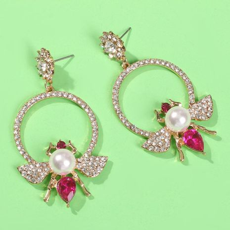 Circle Honey Super Fairy Alloy Earrings NHMD152238's discount tags