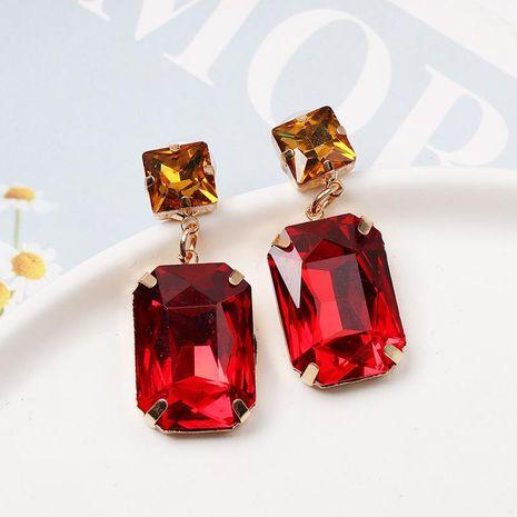 Fashion geometric diamond earrings NHJJ152436's discount tags