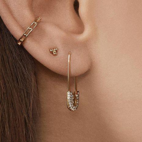 Fashion Diamond Stud Earrings NHJJ152469's discount tags