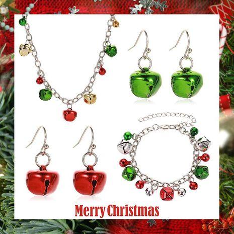 Nouveau collier de couleur de Noël collier boucles d'oreilles bracelet NHDP152483's discount tags