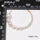 New Cshaped size pearl hoop earrings NHJJ152447