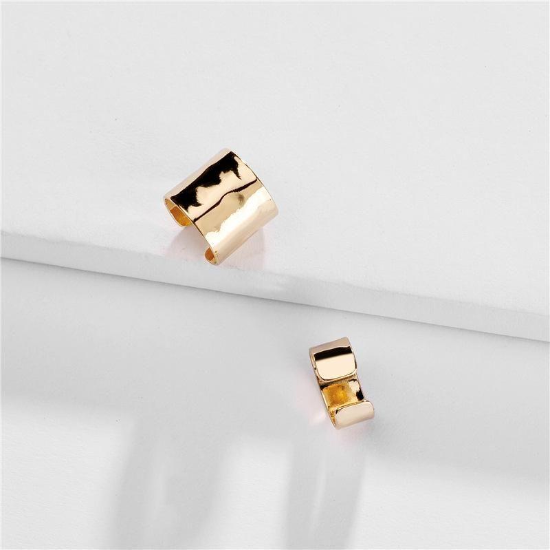 Womens Geometry Electroplating Alloy Earrings NHLU152561