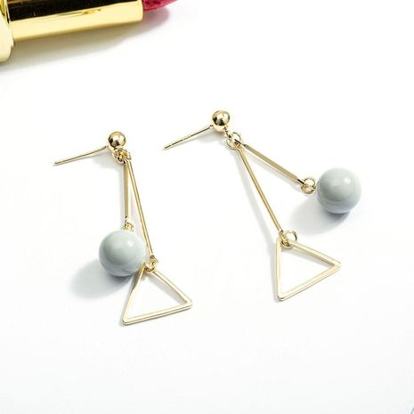 Simple geometric super fairy alloy earrings NHLL152572's discount tags