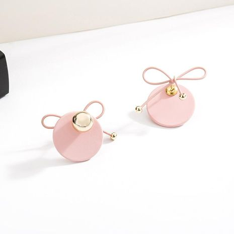 Womens Geometry Electroplating Alloy Earrings NHLL152617's discount tags