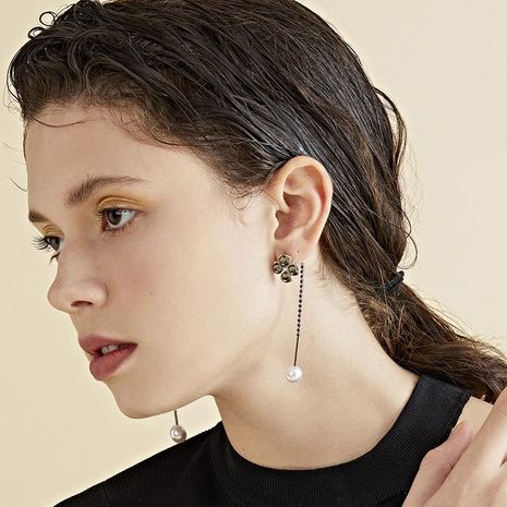 Womens Geometry Electroplating Alloy Earrings NHLL152640's discount tags