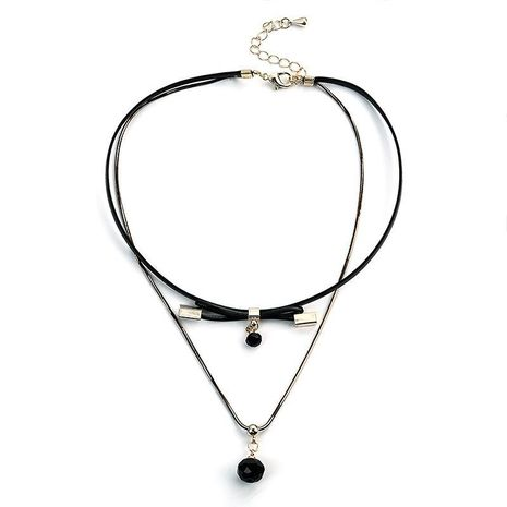 Womens geometric plating alloy Choker NHLL152652's discount tags