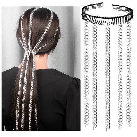 Fashion versatile hair style personality headband NHCT152655's discount tags