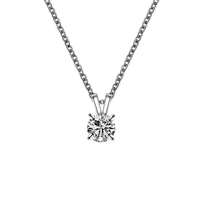 Simple and stylish temperament girls four-prong necklace NHDP152712